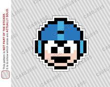 8bit Mega Man Rockman 1UP Car/Truck Vinyl Bumper Sticker