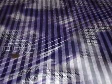Stampa in raso / Chiffon Burnout stripe-abstract splodge-dress Tessuto-Gratuito P+P