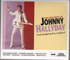DOUBLE CD DIGIPACK 40T THE VERY BEST OF JOHNNY HALLYDAY LE MEILLEUR NEUF SCELLE