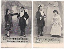 Manon Lescaut - 12 cartoline nuove, serie completa