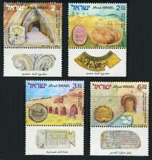 Israel: 2005 Ancient Water Systems (1585-1588) With Tabs MNH