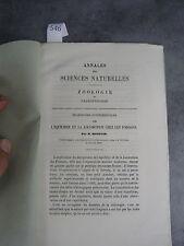 Ferdinand Monoyer Sciences Naturelles Zoologie ophtalmologie optique médecine