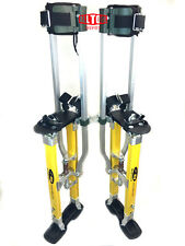SurPro SP2 Quadlock Dually Magnesium Drywall Stilts 18-30 in. (SUR-SP2-1830MP)