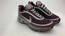 new product 77fe0 3ae1b NIKE AIR MAX 360 2007 White Women s Size 7.5 Red Wine Color Retro Nike s