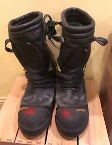 Globe Structural Firefighting Boots Size  12 Extra Wide
