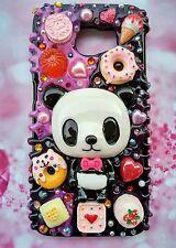 iPhone 7plus 7 iPhone6 5 Panda sweet dessert decoden blings handmade phone case