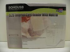 "SohoUSB 5.25"" Internal Card Reader with Multi IO New in Box"