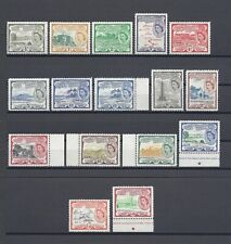 ST CHRISTOPHER NEVIS ANGUILLA 1954-63 SG 106A/18, 112C MNH Cat £97.50