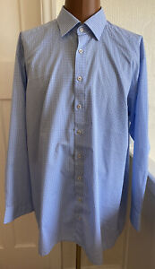 "Mens Plaid Checker OLYMP LUXOR COMFORT FIT  SHIRT 19""/48"
