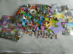 Lego Friends Bundle 3 Kg Including figures and animals and box