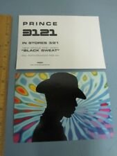 PRINCE 2006 advance 3121 rare promotional postcard MINT condition NEW old stock