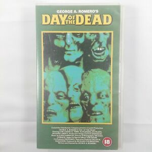 Day Of The Dead - VHS Cassette Small Box - PAL - 1998 - 4 Front Video