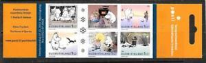 FINLAND - 2003.  Moomins - €3.90 Booklet