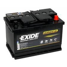Batterie decharge profonde Exide equipement GEL ES650 12v 56ah 278X175X190MM