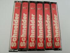 Schneider Ferro Low Noise c60  6 Cassette Tapes