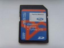 GENUINE FORD SAT NAV NAVIGATION SD CARD V3 WEST EUROPE UK / IRELAND