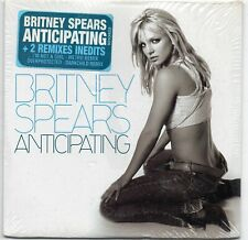 BRITNEY SPEARS FRENCH CD SINGLE ANTICIPATING 3 TRACKS SEALED WITH STICKER 2001