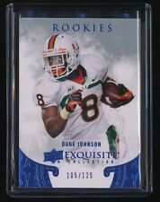 DUKE JOHNSON 2014 EXQUISITE COLLECTION DRAFT PICKS RC 105/125 CLEVELAND BROWNS