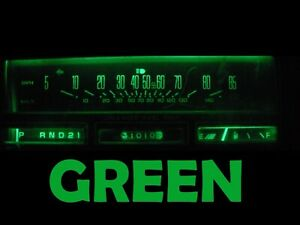 Gauge Cluster LED Dashboard Bulbs Green For Oldsmobile 78 88 Olds Cutlass