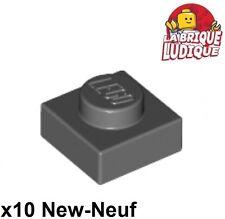 LEGO NEW 1x1 Light Bluish Grey Round Tile 4650260 Brick 98138 10x
