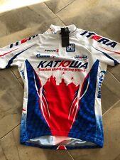 Team Katusha Mesh Jersey Medium Santini Tour de France Team Issued Climber's