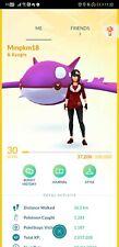 Pokémon Go account shiny kyogre shiny moltres kyurem zekrom giratina virizion
