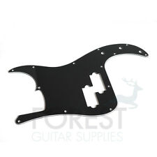 Fender PRECISION BASS ® aftermarket Pickguard, Black 3 Ply (B/W/B)  Golpeador