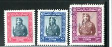 1975 Jordan King Hussein 3 values from set including SG 1118 used