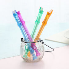 2Pcs Flute Gel Pens Candy Color Clarinet Shape Student Gel Ink Pen Writing Gifts