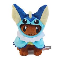 "Pokemon Eevee Poncho Vaporeon Showers Plush Doll Figure Collectible Toy Gift 7"""