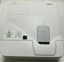 NEC UM280X HDMI SHORT THROW PROJECTOR 141 LAMP HOURS USED | REF:S100