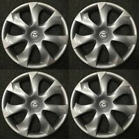Set of 4 OEM HubCaps WheelCovers for 2014-2016 Mazda 3 B45A-37-170 56557