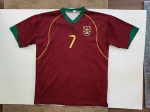 Portugal Luis Figo Home Jersey / shirt XL