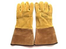 Pigskin 4095 Leather Gloves Ski Work Mitts Mittens Large Brown By Shelby USA