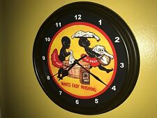 Gold Dust Wash Soap Laundry Sambo Kitchen Advertising Wall Clock Sign