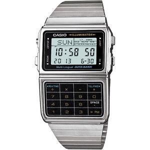 Casio Men's DBC611-1D Stainless Steel Databank Calculator Watch