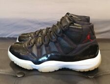Nike Air Jordan 11 XI Retro 72-10 (2015) Black Gym Red Size 9.5 378037-002