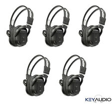 5 Wireless Folding IR DVD Video Headphone Headset Fits 2003-2018 Honda Odyssey