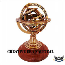 Antique Vintage Nautical Brass Sphere Armillary Collectible Nautical VintagDecor