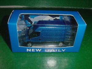 IVECO DAILY bleu 1/72 ELIGOR