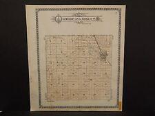 North Dakota Bottineau County Map Ostby Township  1910 Q6#56