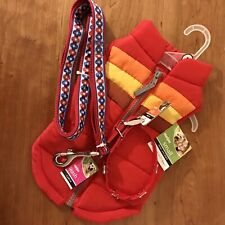 Dog Gift Set Includes Puffer Vest Leash And Collar For Small Dog