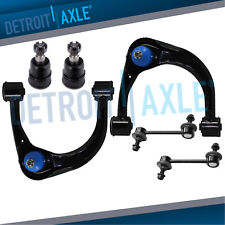 Front Upper Control Arms Ball Joint Sway Bars for 03-09 GX470 4Runner FJ Cruiser