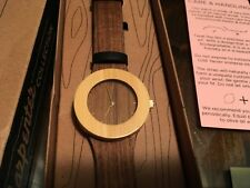 wooden watch, founder edition, Spring 2014, analog watch co