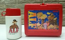 Vintage Thermos Alf Lunchbox & Thermos
