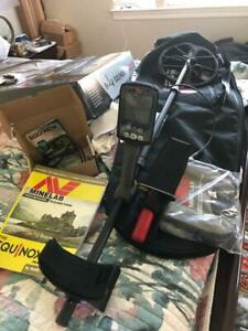 Minelab EQUINOX 800 Multi-IQ Metal Detector AND EXTRAS L@@K Excellent