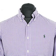 POLO by RALPH LAUREN Button Down Gingham Shirt | Check Plaid Vintage Casual