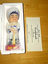 1992 Babe Ruth SAMS Ceramic Bobblehead New York Yankees Certificate