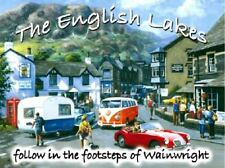 The Lake District Wainwright Old VW Camper Classic Car Novelty Fridge Magnet