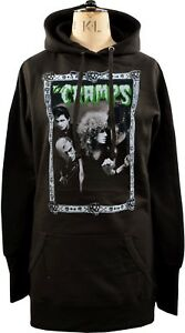 WOMENS HOODIE DRESS THE CRAMPS STAY SICK DE LUX INTERIOR GARAGE PSYCHOBILLY PUNK
